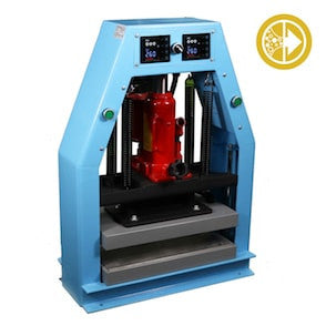 Bubble Magic 8''x16'' Hydraulic/Pneumatic Heat Press 12ton-TrimBud.com