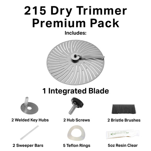 GreenBroz 215 Dry Trimmer Premium Parts Package-TrimBud.com