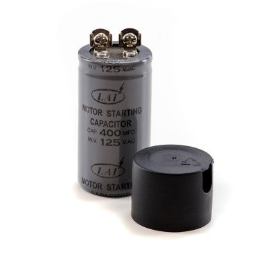 Leaf Collector Start Capacitor (125V, 400MF)-TrimBud.com
