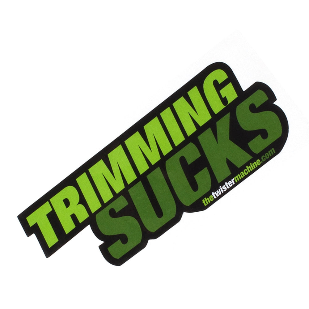 Trimming Sucks Sticker-TrimBud.com