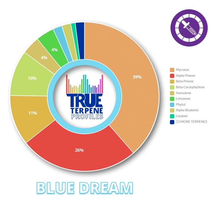 True Terpenes Blue Dream Profile 4oz-TrimBud.com