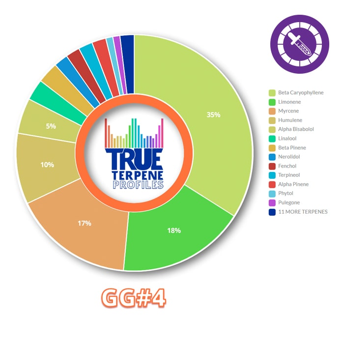 True Terpenes GG#4 Profile 15ml-TrimBud.com
