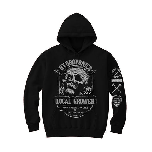Local Grower Skull Hoddie-TrimBud.com