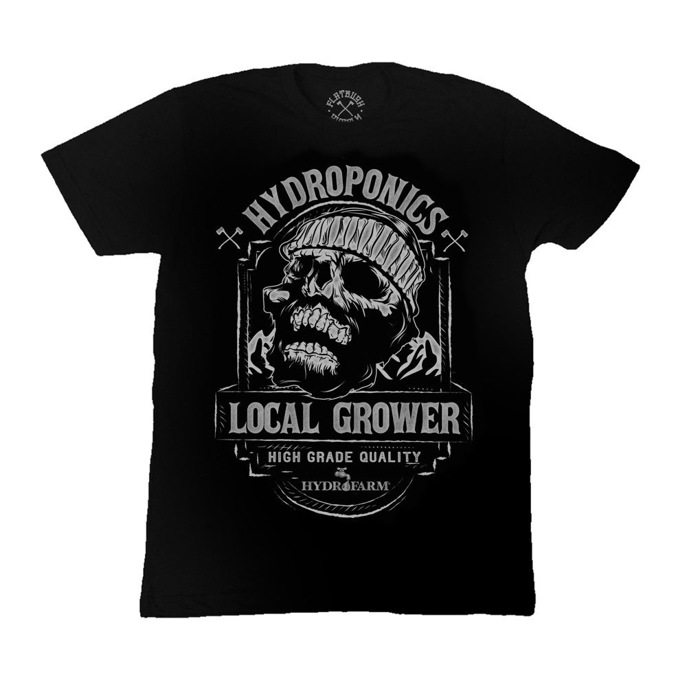 Local Grower Skull T-Shirt-TrimBud.com