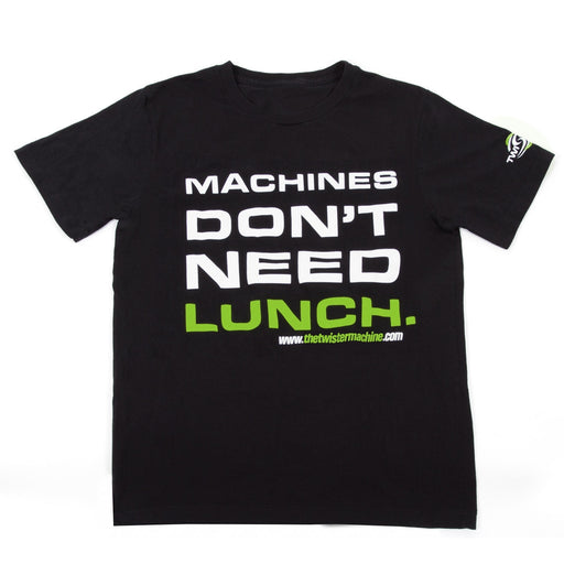 Machines Don't Need Lunch T-Shirt-TrimBud.com