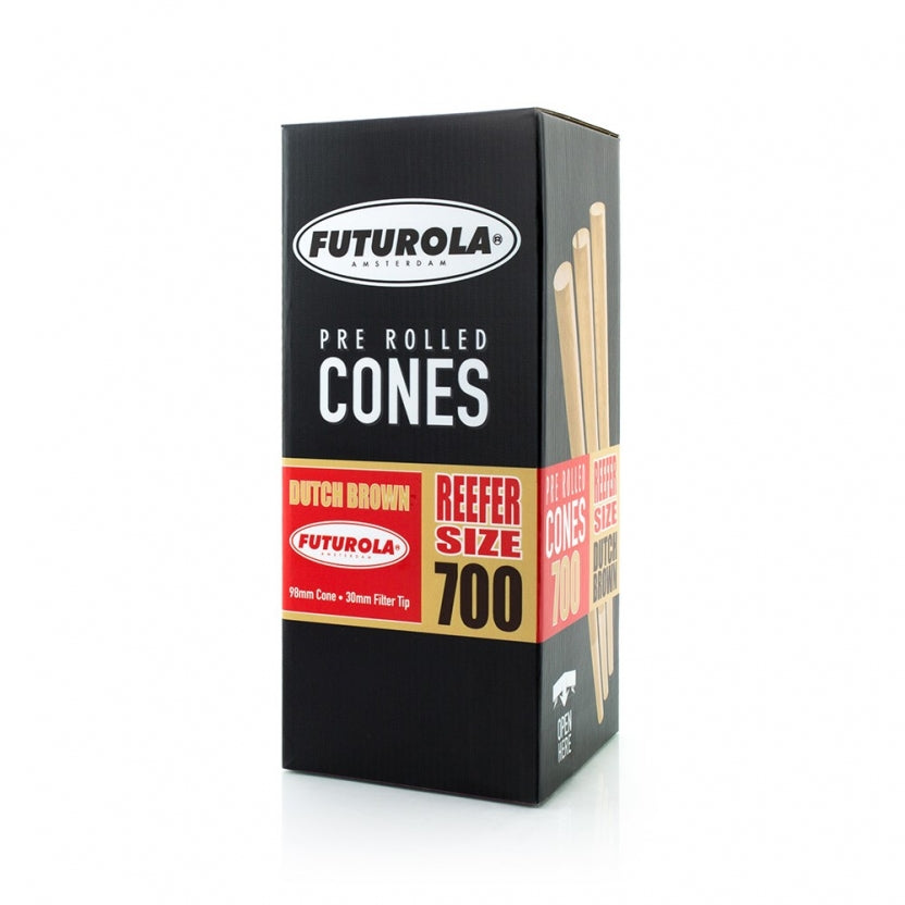 Futurola Reefer Size - 98/30 [700 Dutch Brown™ Cones]-TrimBud.com