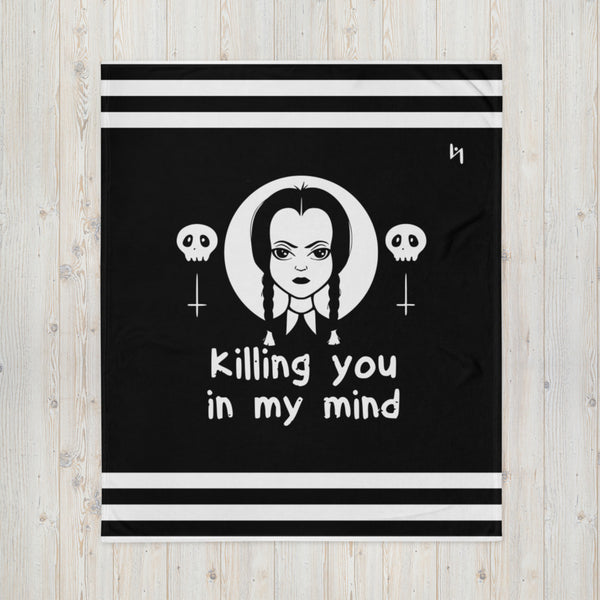 Wednesday Addams Throw Blanket