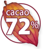 72 percent organic Peru chocolate