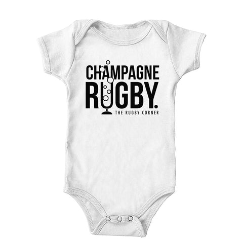 Champagne Rugby Onesie