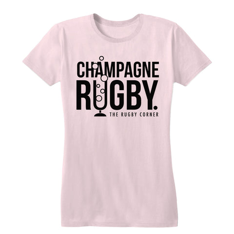 Champagne Rugby Women's Tee