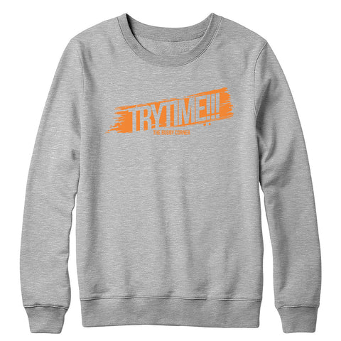 Try Time!!! Crewneck