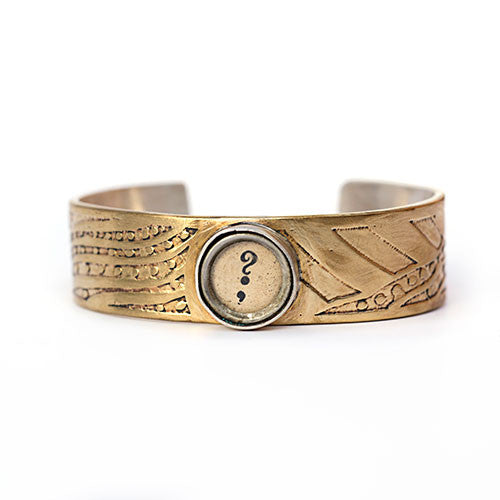 Pause & Question Goddess Cuff