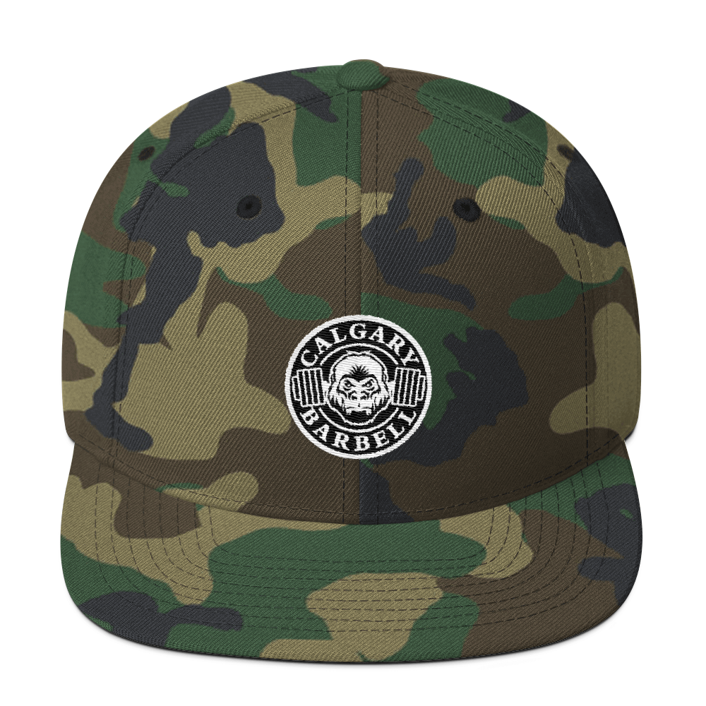 The Classic Snapback (Army)