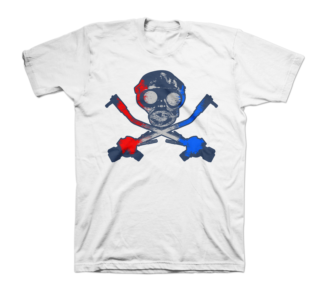 SID Red, White & Blue Gas Mask