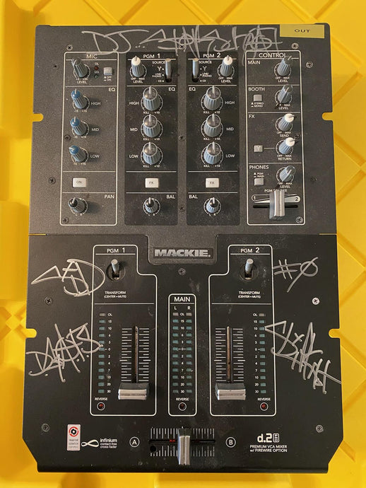 Signed SID Tour Used Mixer (Vol. 3: (The Subliminal Verses) Cycle)