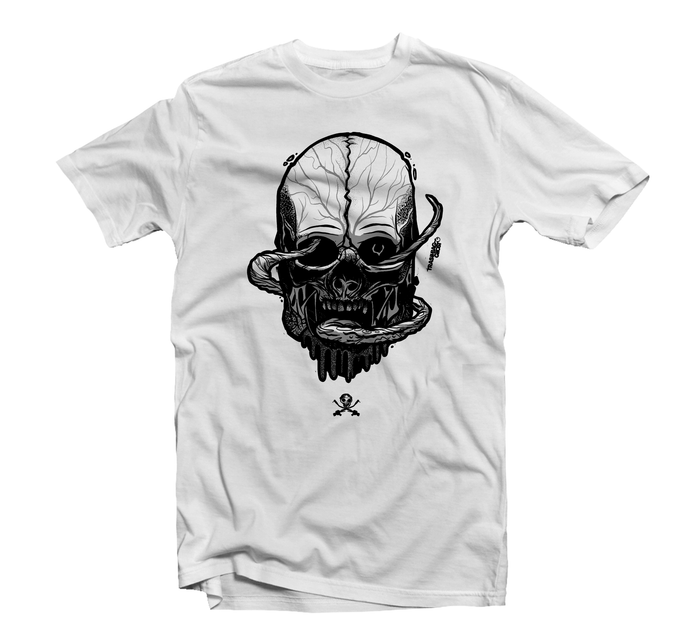 Savage Mask Mutations Issue 003 White Tee