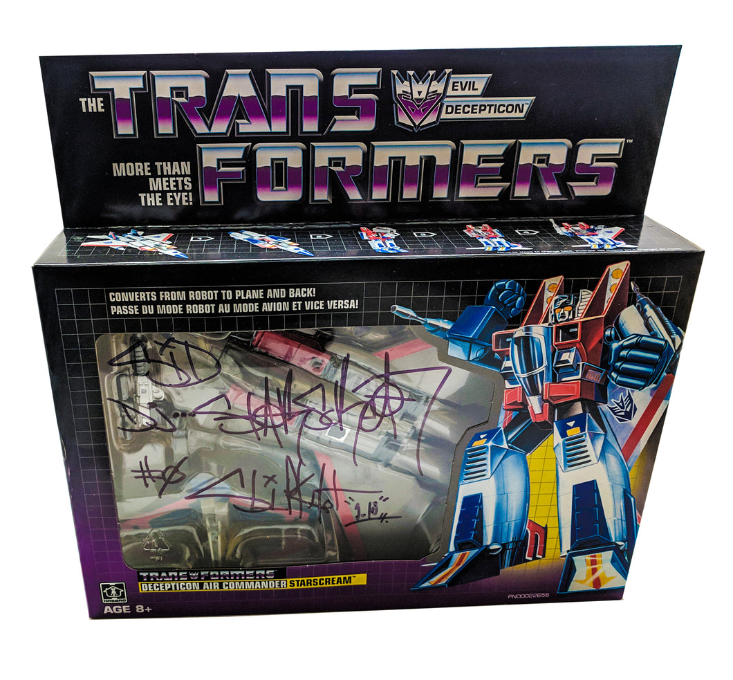 Signed Starscream