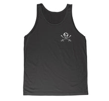 SID Chest Print Gas Mask Unisex Tanks