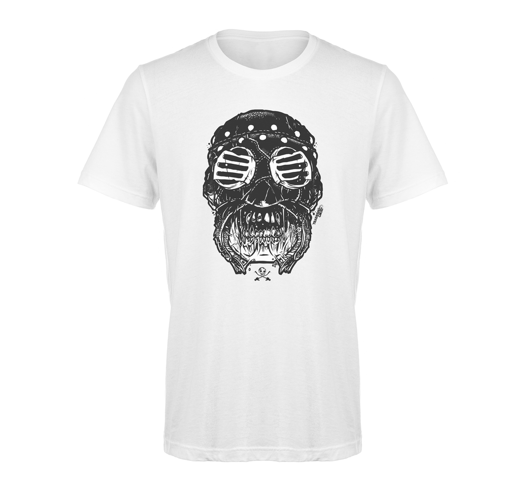 Savage Mask Mutations Issue 001 White Tee