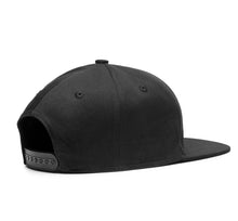 Murdered Out [New All Black Bill] O.G. SID Gas Mask Black Snapback Cap