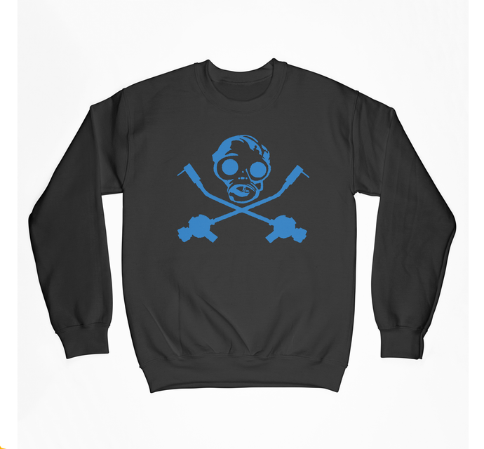 Classic Gas Mask Crewneck Fleece