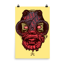 Savage Mask Mutations: Issue 005. Poster