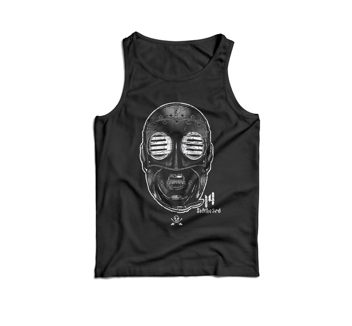 The Definitive SID Mask History Series: Issue #4. 2014. Big Mask. Unisex Tank Top