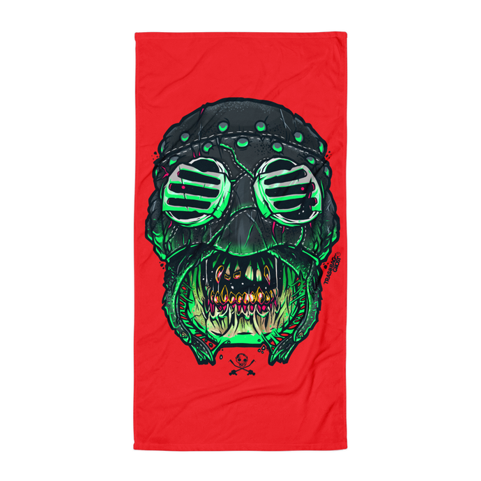 Savage Mask Mutations Issue 001 Beach Towel