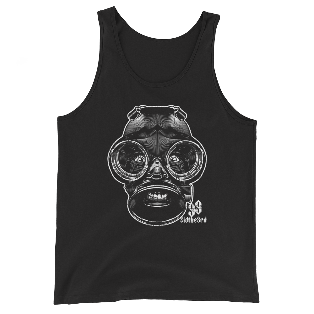 The Definitive SID Mask History Series: Issue 0 (Self Titled - 1999) Unisex Tank Top  (The Forbidden Tank)