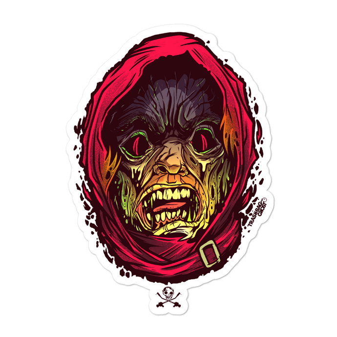 Savage Mask Mutations Issue 0 Monster Size Sticker