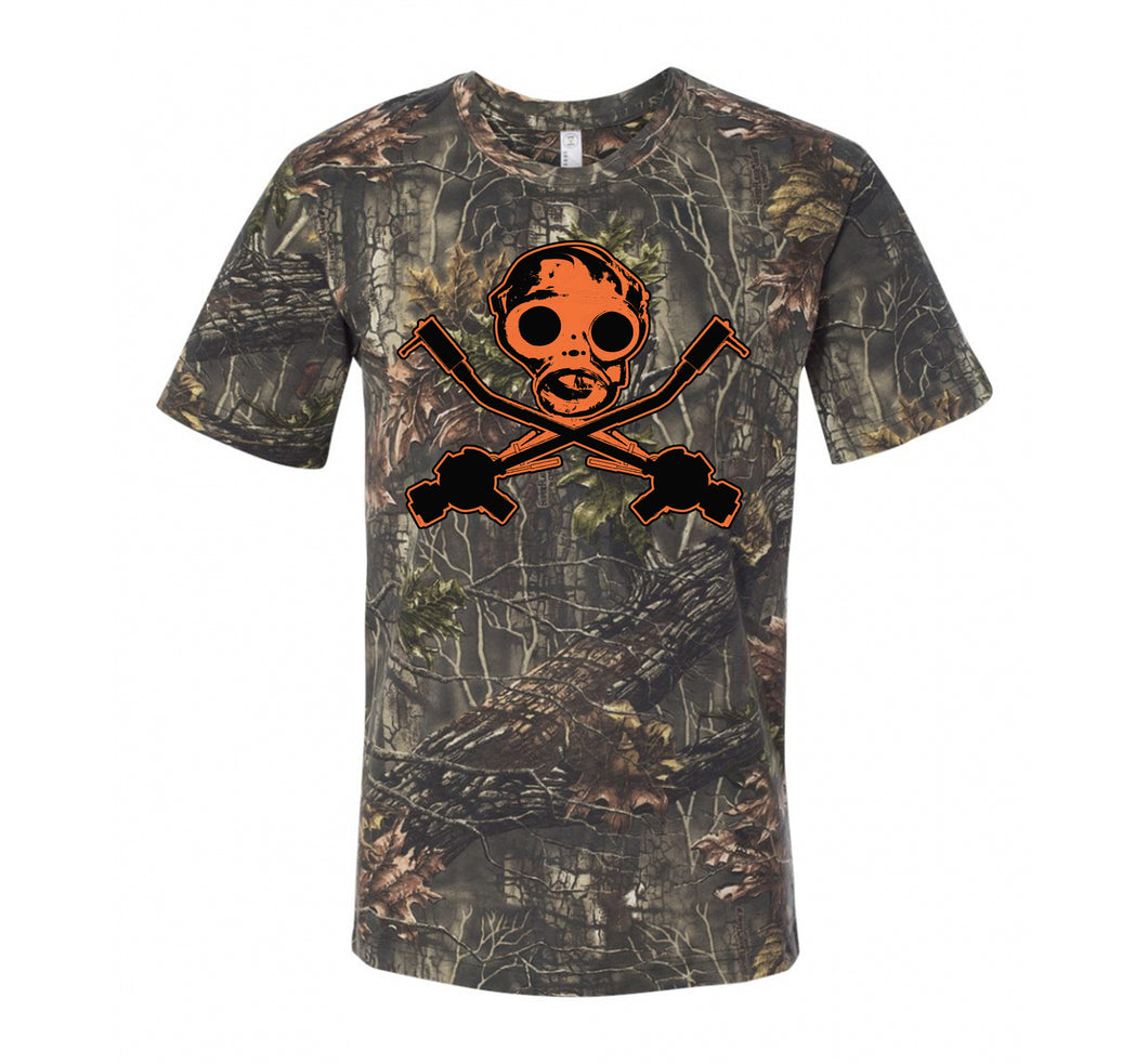 SID GASMASK TEE: HUNTING SEASON EDITION