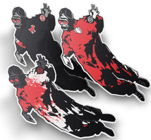 """The Solo"" (SID mid-air) Sticker 3 Pack"