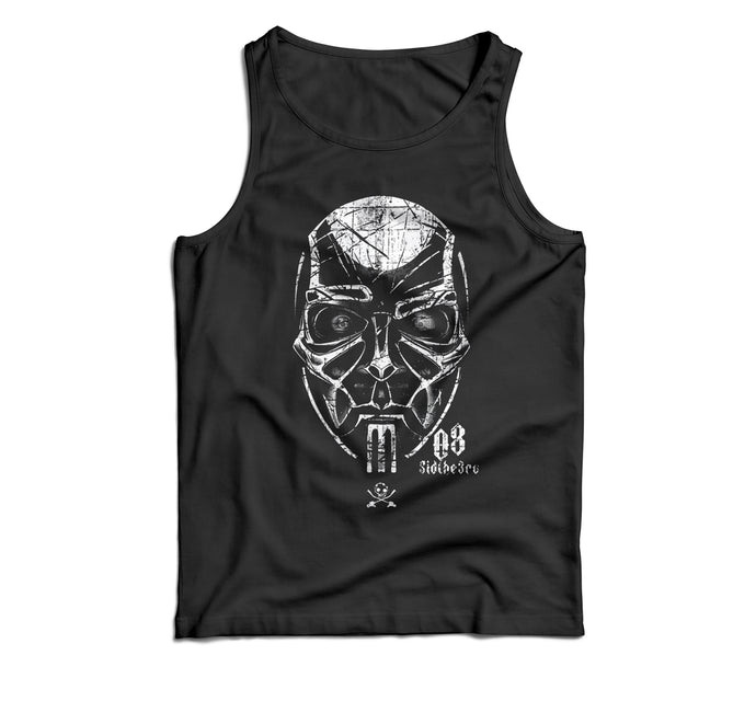 The Definitive SID Mask History Series: Issue #3. 2008. Big Mask. Unisex Tank Top