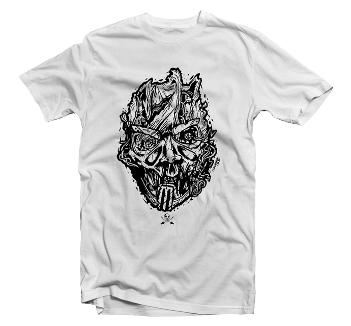 Savage Mask Mutations Issue 002 White Tee
