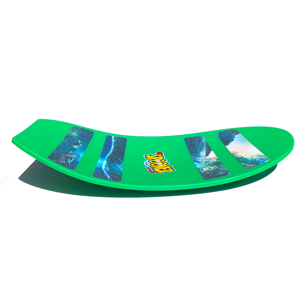 Freestyle Spooner Board - Green - Super Toy
