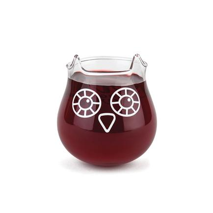 BigMouth The Owl Stemless Wine Glass
