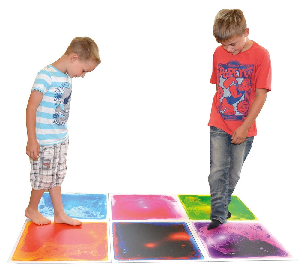 Liquid Gel Floor Tile - Orange - Super Toy