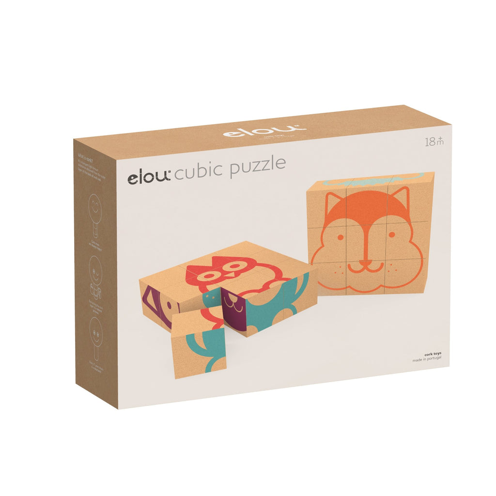 Elou Cubic Puzzle - Super Toy