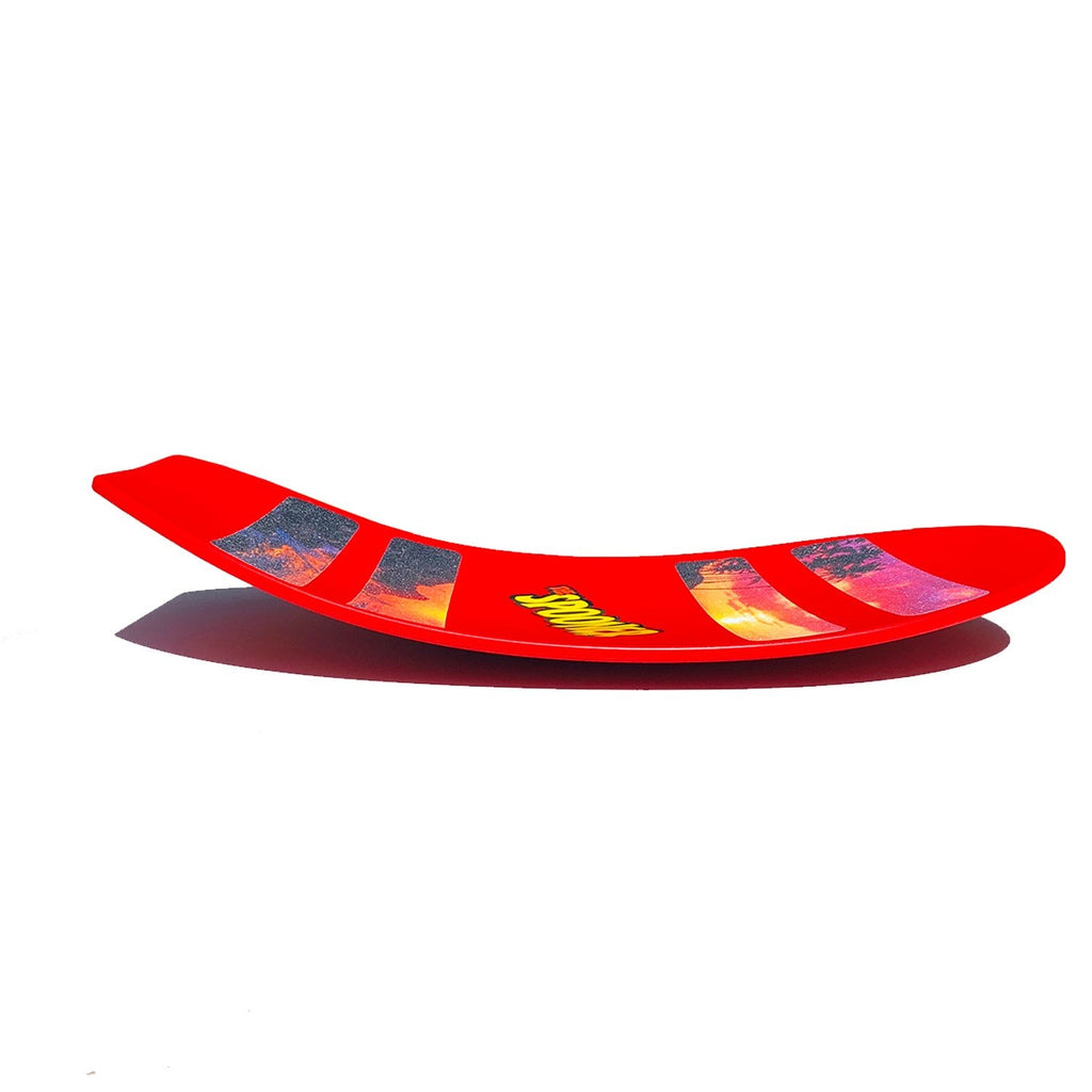 Freestyle Spooner Board - Red - Super Toy