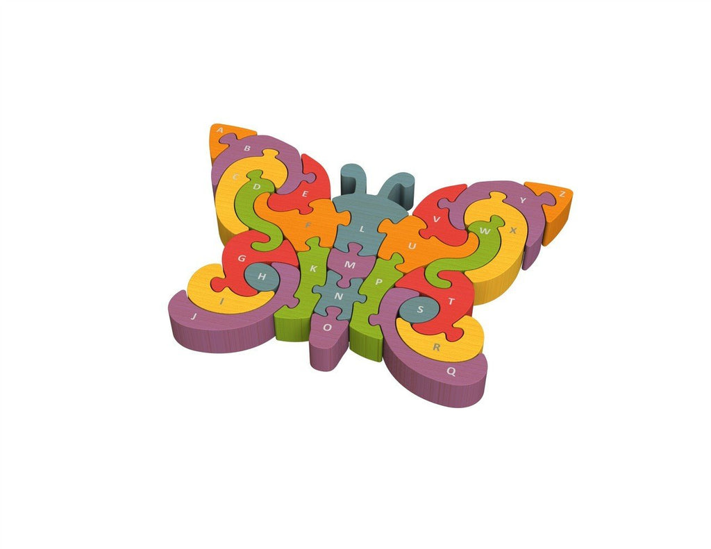 Butterfly A-Z Puzzle - Super Toy