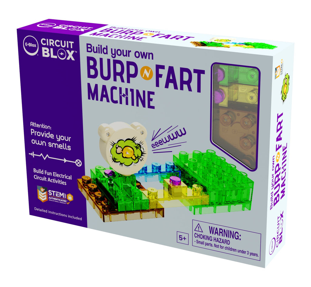 Build Your Own Burp 'N Fart Machine - Super Toy