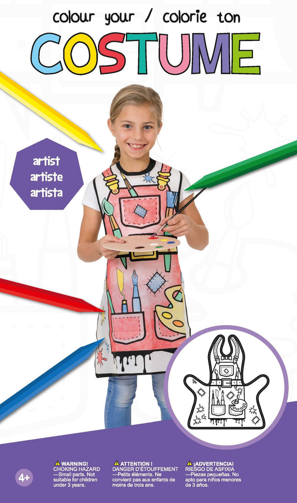 Colour Your Costume - Super Toy