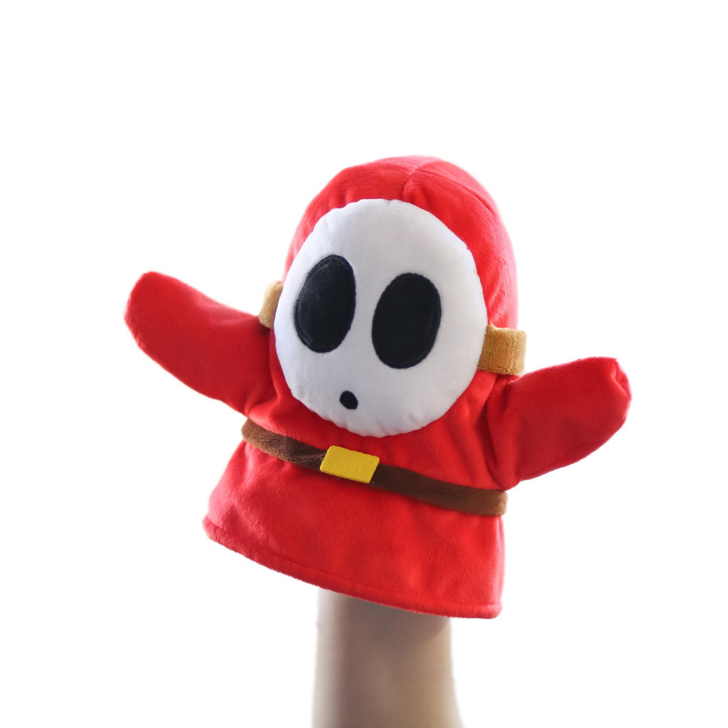 Nintendo Super Mario - Shy Guy Puppet - Super Toy