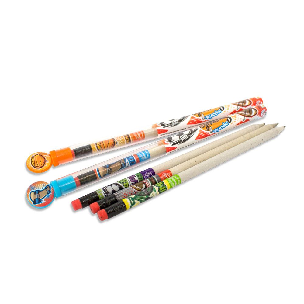 Sport Smeincils 5-Pack - Super Toy