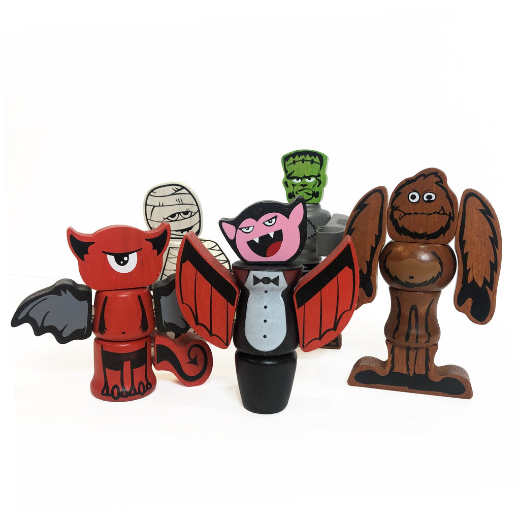 Tinker Totter Monsters - Super Toy