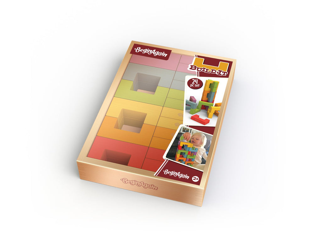 U Build It Plus - 24 Pc Block Set - Super Toy