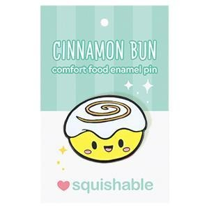 Cinnamon Bun Enamel Pin - Super Toy