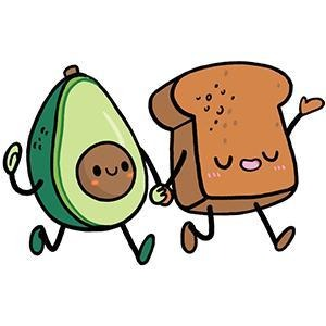 Avocado Sticker Set - Super Toy