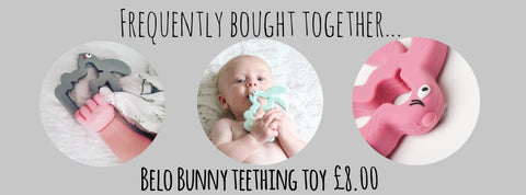 belo teething bunny teether
