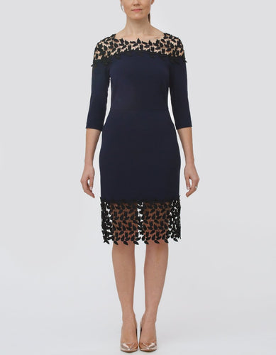 Mimi Leafy Lace Dress